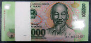 Vietnam 100,000 X 50 Notes = 5 Million Dong, In Unc Condition Fast Shipping