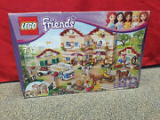 Lego Friends 3185 Summer Horse Riding Camp Barn Stable Rare Retired New Nos
