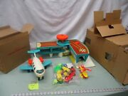 Fisher Price Little People Play Family Airport 933 2502 996 X Luggage Helicopter