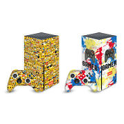 Official Emojiandreg Art Patterns Vinyl Skin Decal For Xbox Series X/s One X One S