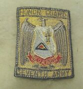 7th Army Honor Guard Nco Acad German Made Patch From 50 Yr Bill Wiseand039s Coll.