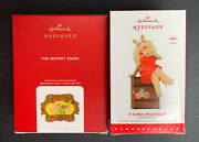 2020 The Muppets Show And 2015 It Is Moi, Miss Piggy Hallmark Ornaments - New