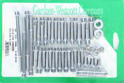 Gardner-wescott P-10-15-01 Cam And Primary Cover Hardware Set Polished Chrome