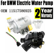 Water Pump W/ Thermostat And Bolt For Bmw 128i 325i 328i 528i 530i X3 11517586925