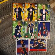 Panini Fifa 365 2021 Not Sold In Uk Stores--8 Paris St Germain Cards And Stickers