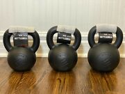 Ethos Cast Iron Kettlebell 4 8 12 16 20 24 Kb Lb Weight Free Shipping