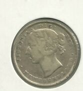 1888 Canada Nl 92.5 Silver 20 Cent Mintage 75000