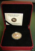 2010 Return Of The Tyee 3 Dollar Coin 99 Fine Silver Pink And Yellow Gold Plated