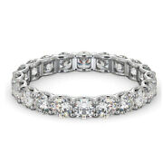 2.00 Ct Real Diamond Engagement Ring Solid 950 Platinum Bridal Band Size 5 6 7 8