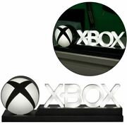 Gamer Decor Xbox Icons Light Up Standard And Phasing Lamp W/ Usb Cable Cord