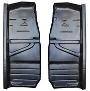 Floor Panel, Half Section For 68-76 Mercedes-benz 114 115 Chassis - Pair