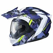 Scorpion At950 Helmet - Outrigger Small Matte Blue