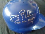 Los Angeles Dodgers Kirk Gibson Signed And Inscribed 1988 Nl Mvp Full Sized Helmet