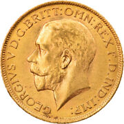 [856268] Coin, Great Britain, George V, Sovereign, 1913, London, Ms, Gold