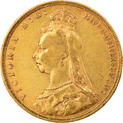 [856260] Coin, Great Britain, Victoria, Sovereign, 1891, London, Ef, Gold