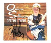 Quinn Sullivan Getting There Signed Autographed Music Cd Superstar Records