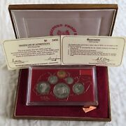 Singapore 1975 6 Coin Proof Year Set - Sealed/complete