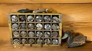 Vintage Antique Fishing Reel Wall Art Man Cave Cabin Lake House Lodge Decor Old