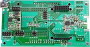 Pcb With Assembled Components-tested For Arduino Antenna Analyzer  1-60 Mhz