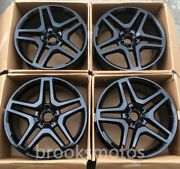 24 Twin 5 Spoke Staggered Forged Wheels Rims Fits For Mercedes Benz Gls Class