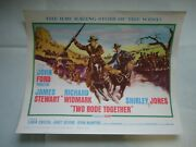 Western/ Two Rode Together/john Ford/ul14/title Card 1961