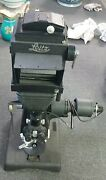 Estate Leitz Panphot Biological Microscope Photographic Equipment And Light
