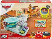 Disney And Pixar Cars Mini Racers Radiator Springs Spin Out Playset With Pitty