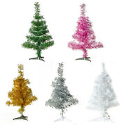 Christmas Tree Ornaments With Light New Year Festival Party Xmas Decoration Os