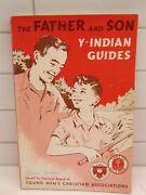 Vintage Father And Son Y- Indian Guide Young Mens Christian Assc 1966