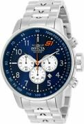S1 Rally 23080 Menand039s Round Navy Blue Chronograph Date Analog Watch