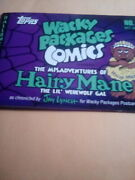 Wacky Packages Comics 2011 Halloween Comic Book Limited Edition Auto Jay Lynch