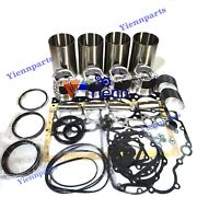 4.340td Overhaul Rebuild Kit For Nanni Marine Engine Parts Piston Bearing Gasket