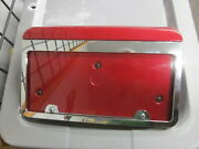 Tesla Front License Plate Frame 2020-2016 Model S 1061912-00-c And 1061911-00-c A