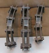 American Flyer 700 Straight Track X 8 Pieces/702 Curve Track X 10 Pcs,used