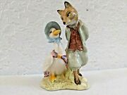 Jemima Puddleduck With Foxy Whiskered Gentleman, Beatrix Potter
