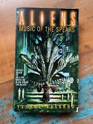 Aliens Music Of The Spears By Yvonne Navarro Paperback Book - Science Fiction
