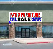 Patio Furniture Sale Huge Savings - Vinyl Banner - Many Sizes Made In Usa