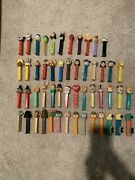 Lot Of 52 Vintage Pez Dispensers - 1980and039s And 1990and039sandnbsp