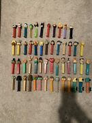 Lot Of 52 Vintage Pez Dispensers - 1980's And 1990's