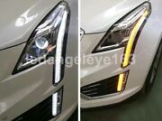Led Head Lights For 2016-2018 Year Cadillac Xt5 Led Strip Front Lights Lamps Ld