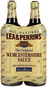 Lea And Perrins Worcestershire Sauce All Natural - Pack Of 2 Bottles - 20oz Each