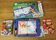 Leap Frog Leap Pad Plus Writing With 3 Books And Cartridges Ages 4-8 Learning Syst