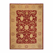 9and039 X 11and03910and039and039 Hand Knotted Wool Peshawar Traditional Oriental Area Rug Rusty Red
