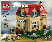 New Lego 6754 Set Family Home 3 In 1 Creator Sealed 976 Pcs