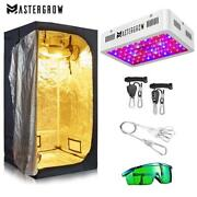 Tent Grow Hydroponic Mylar Indoor Plant Growing Reflective Room 1000w Led 🥦 Kit
