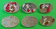 Disney Pins, 3 Pins, 2 Chasers, Finisher, Sport Goofy, 97213, 100276, 2013, Wdw