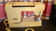 Elna Air Electronic 390b Type 68 Sewing Machine W Accessories And Cams Ec