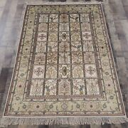Yilong 4and039x6and039 Four Seasons Handknotted Silk Carpet Home Oriental Area Rug 757b