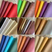 42 Colors Vinyl Fabric Faux Leather Auto Upholstery 56wide Continuous By Yard