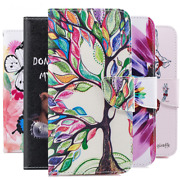 Wallet Credit Card Holder Cover Purse Folio Cash Stand Case For Samsung Galaxy